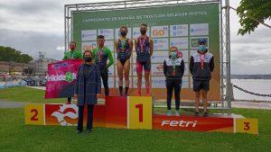 Cidade de Lugo Fluvial gana el Campeonato de España de Triatlón por Relevos Mixtos en A Coruña