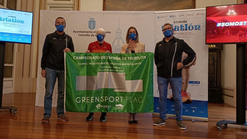 A Coruña recibe triatletas de toda España y paratriatletas de 29 países con los campeonatos nacionales de Triatlón por Clubes y Relevos Mixtos, y la Copa del Mundo de Paratriatlón