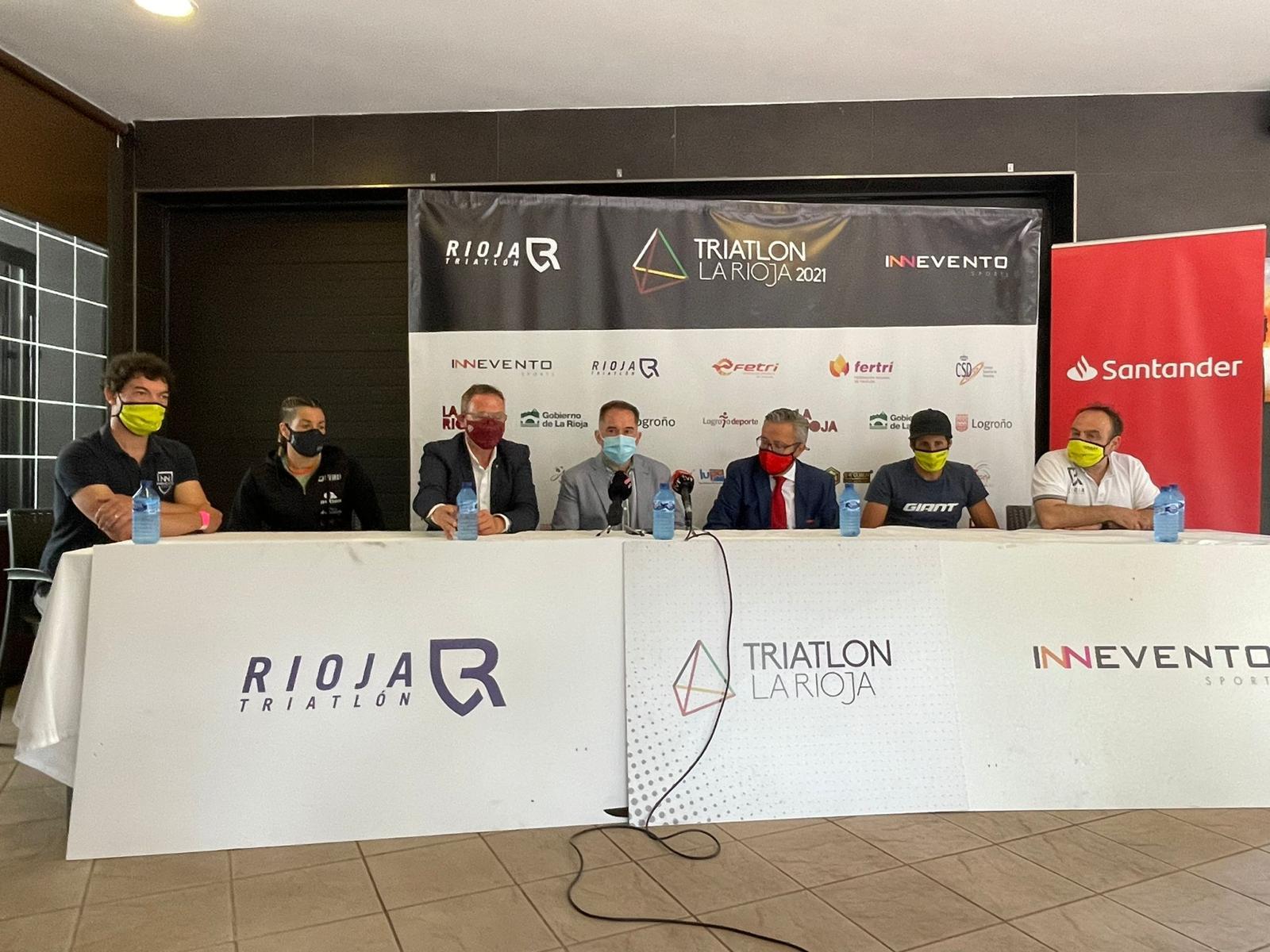 El Triatlón de La Rioja, tercera cita de la Copa de España de Triatlón MD y LD, será el primer gran evento de ciudad de Logroño