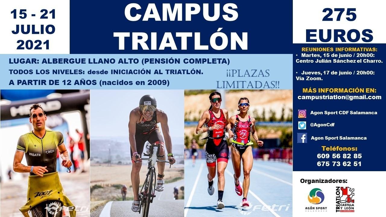 Nuevo campus de triatlón en Béjar, Castilla y León