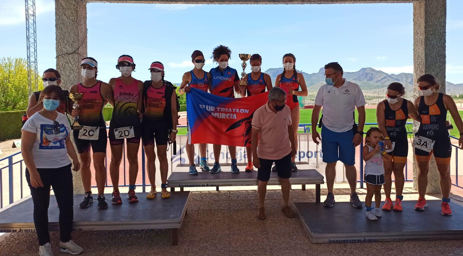 CT Murcia Unidata, Campeones Regionales de Triatlón Contrarreloj por equipos