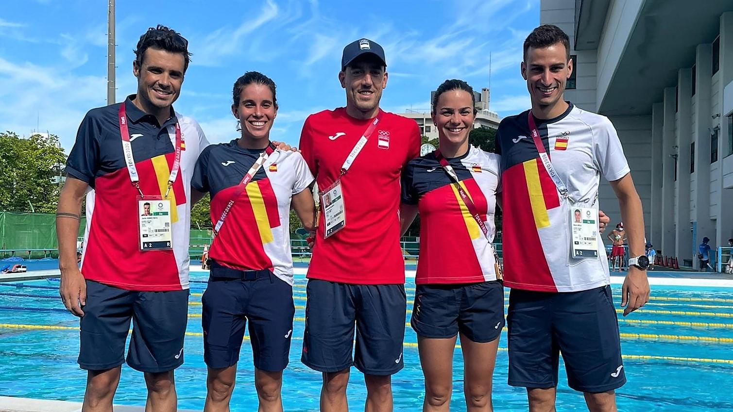 Noya, Mola, Alarza, Casillas y Godoy se citan con la historia en los JJ.OO. de Tokyo