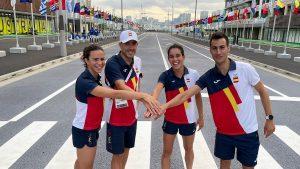 Anna Godoy, Fernando Alarza, Miriam Casillas y Mario Mola estrenarán el Relevo Mixto en unos JJ.OO.