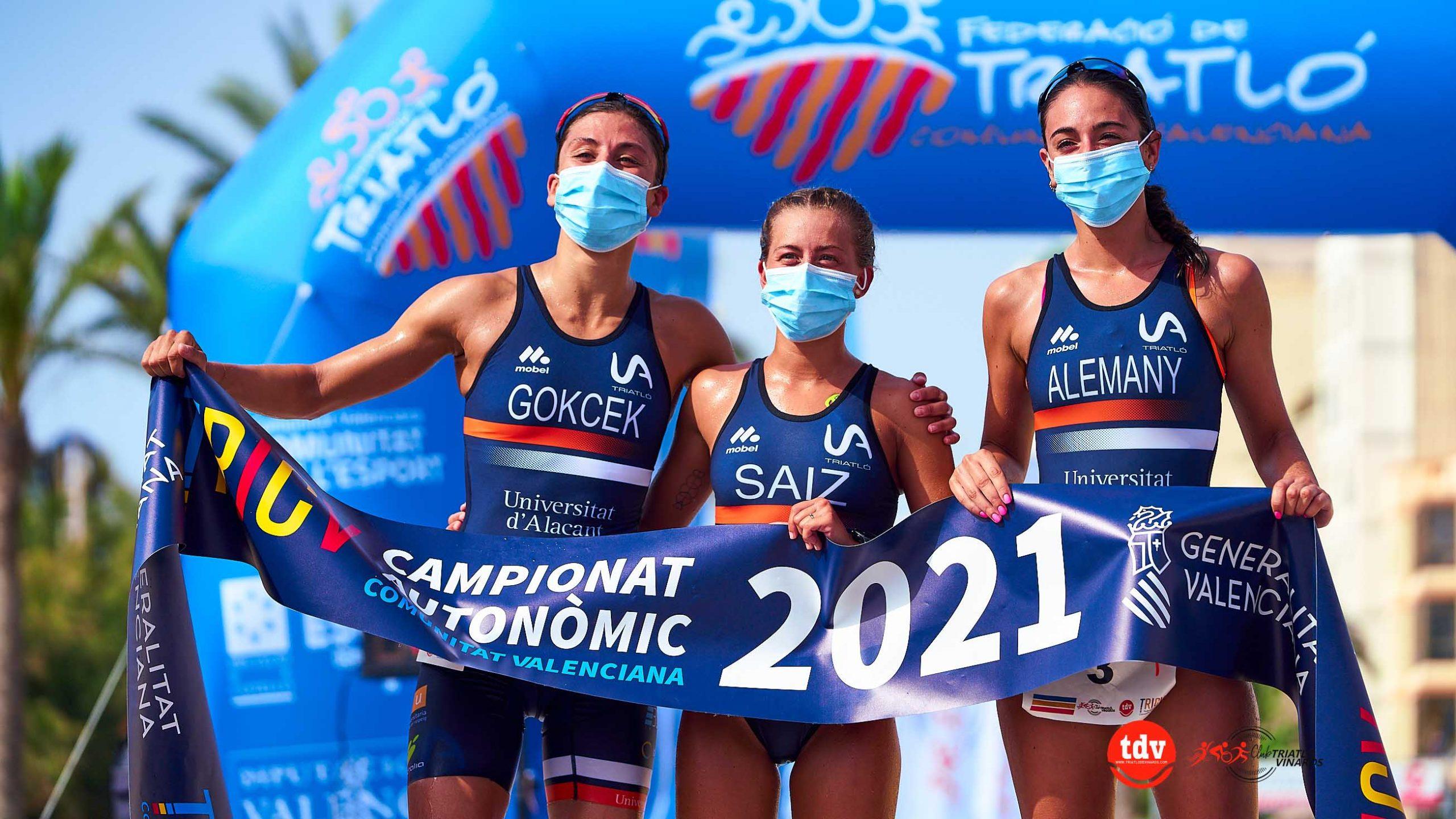 Dominio de la UA Triatlón en el Campeonato Autonómico de Triatlón Olímpico de la Comunidad Valenciana disputado en Vinaròs