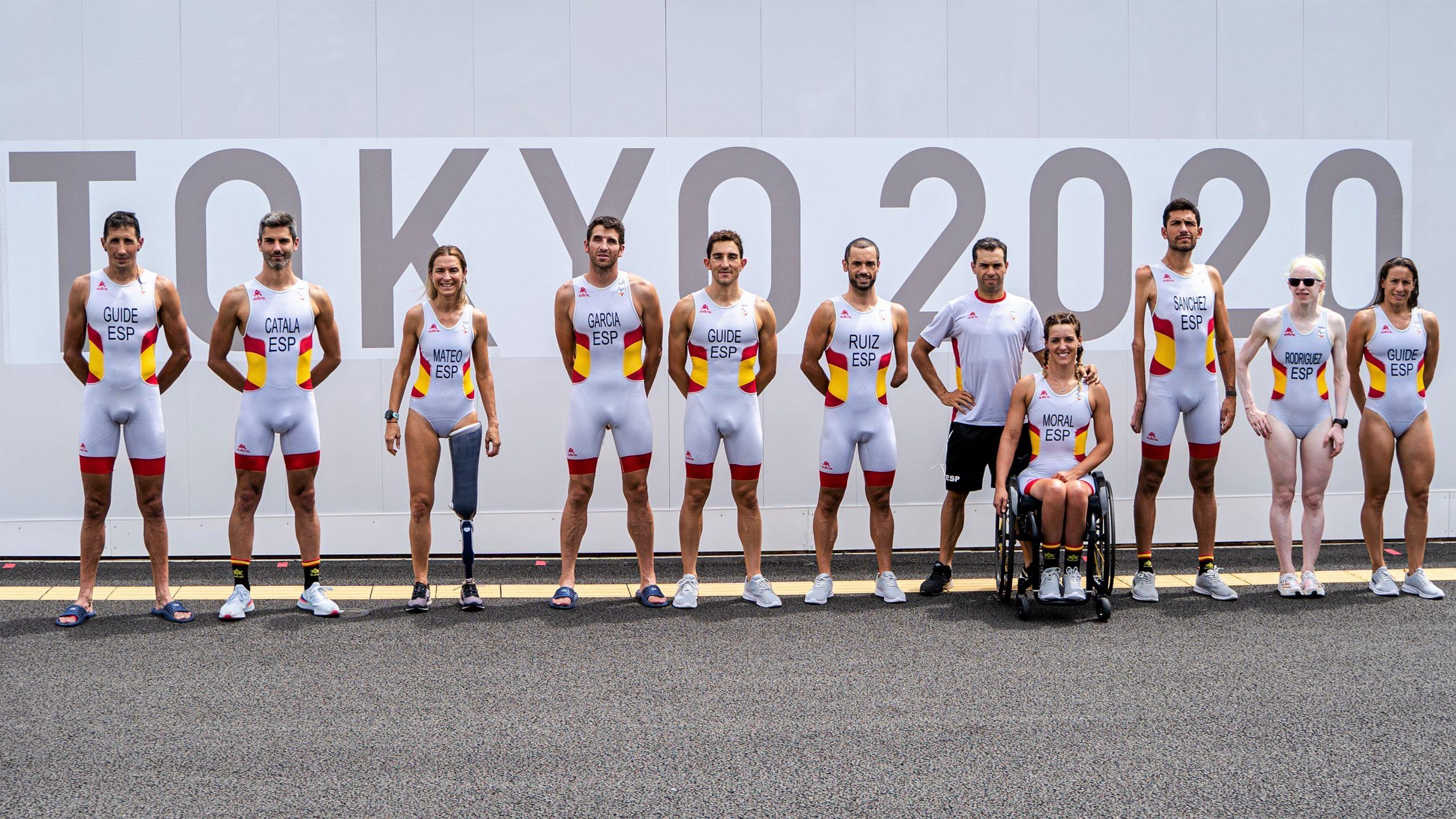 Éxito sin precedentes del triatlón español en los Juegos Paralímpicos de Tokyo