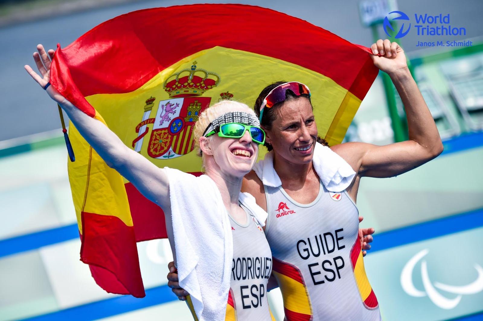 Susana Rodríguez hace historia con el primer oro para el paratriatlón olímpico español