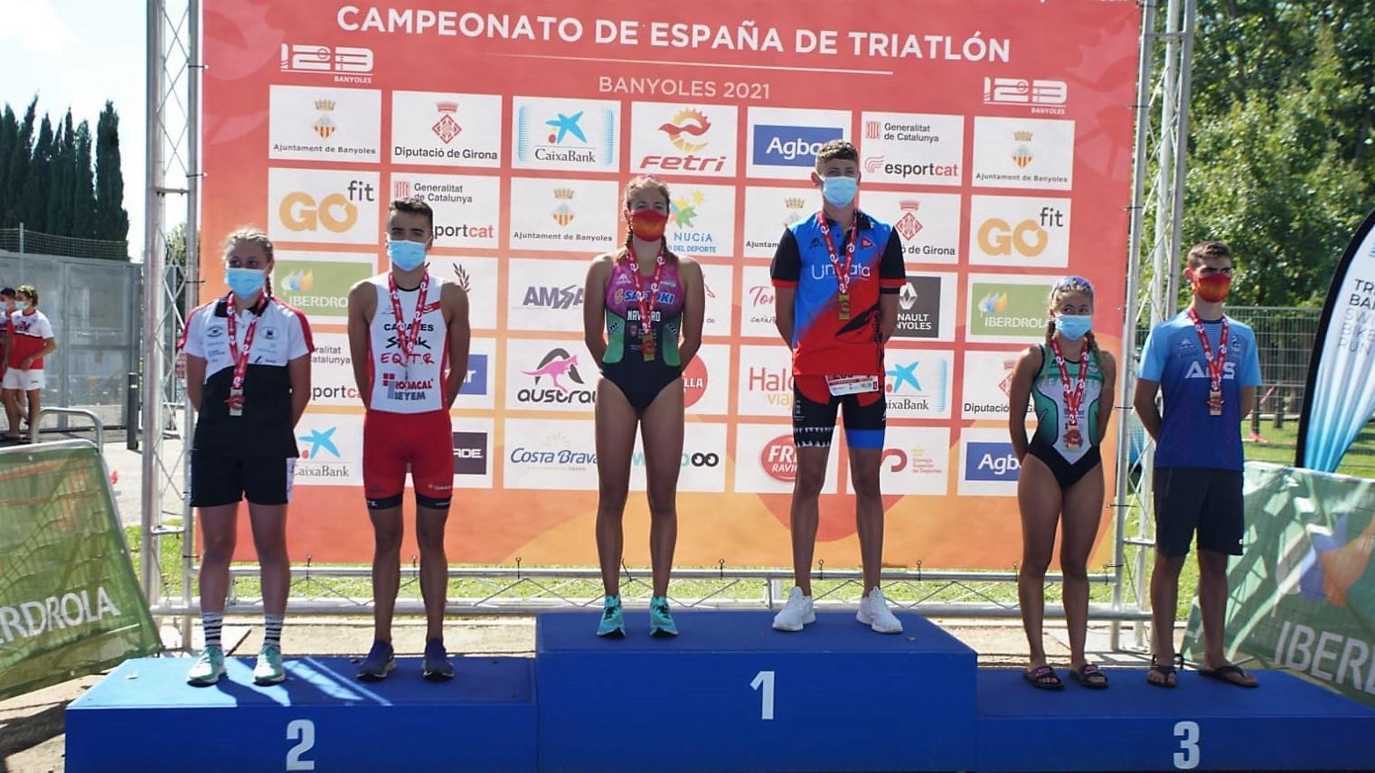 Los Campeonatos de España Juvenil y Junior inauguran el fin de semana de triatlón en Banyoles