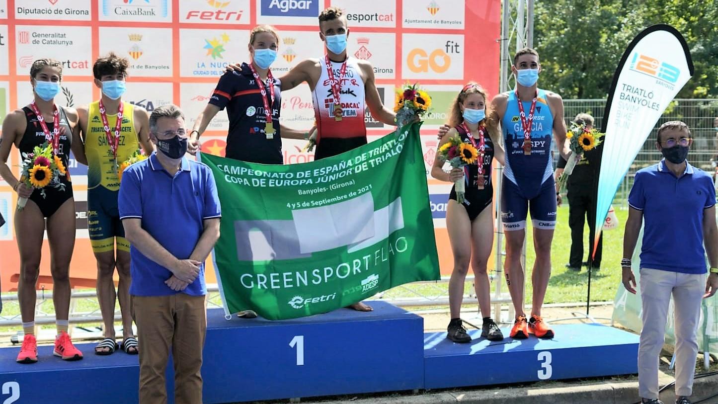 David Castro y Xisca Tous, dos victorias con autoridad en el Campeonato de España de Banyoles