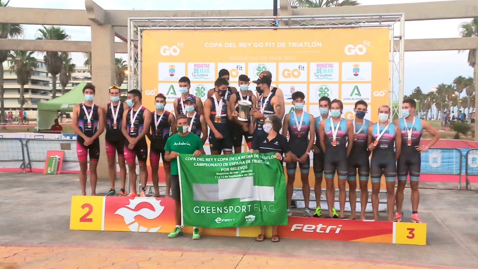 Universidad de Alicante gana la Copa del Rey GOfit, y Cidade de Lugo Fluvial gana la Copa de la Reina Iberdrola de Triatlón