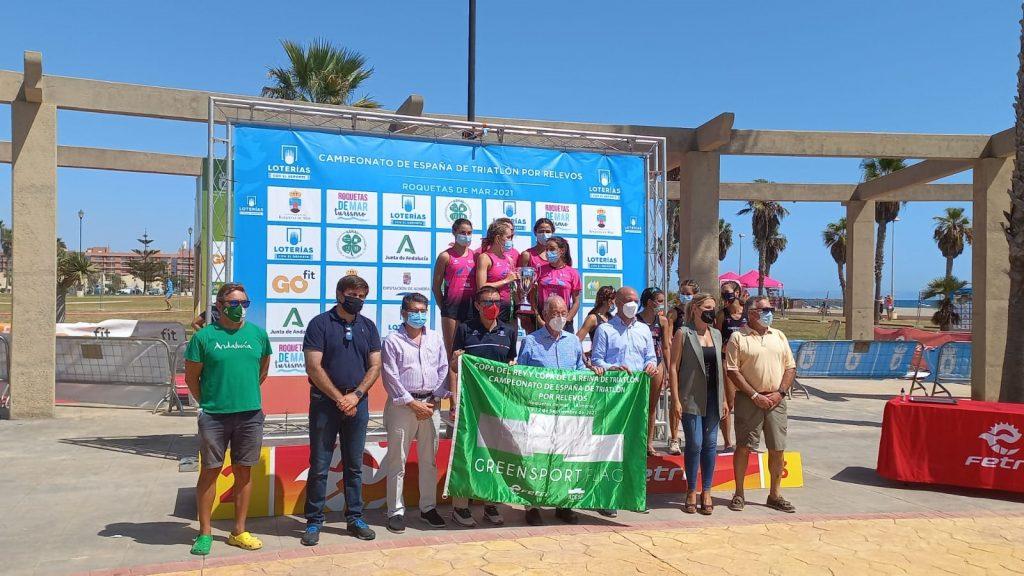 Cidade de Lugo Fluvial gana la Liga Iberdrola de Triatlón
