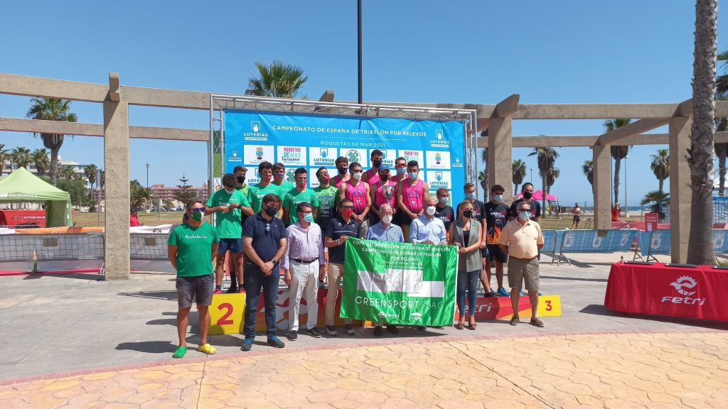Cidade de Lugo Fluvial gana la Liga Nacional de Triatlón Masculina