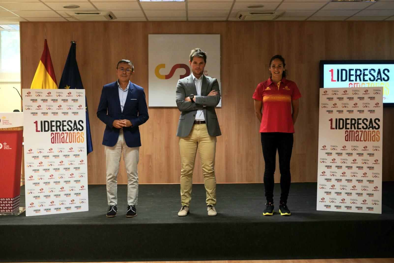 FETRI y la Fundación Deporte Joven del Consejo Superior de Deportes presentan Lideresas Amazonas